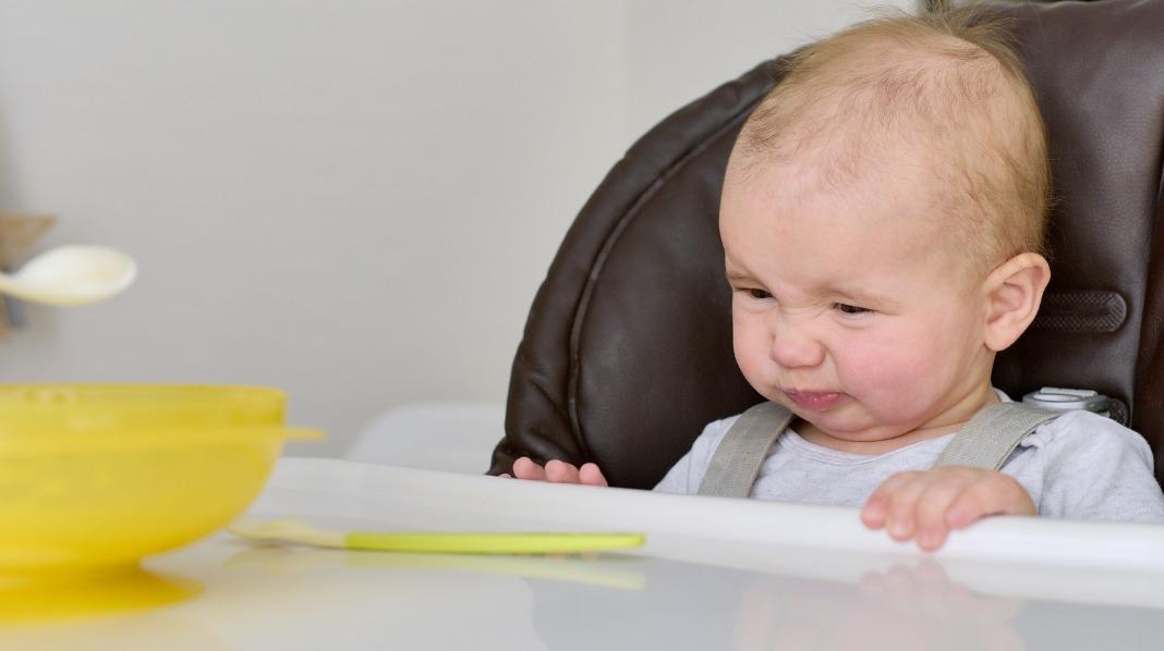 Smake mange ganger før babyen liker maten