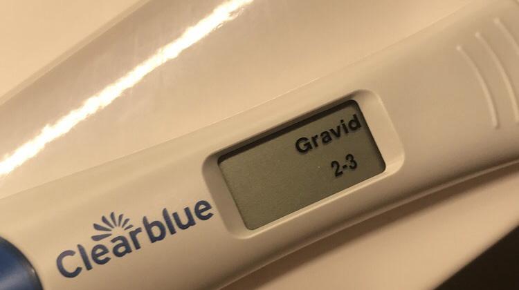 Positiv graviditetstest 2-3 uker