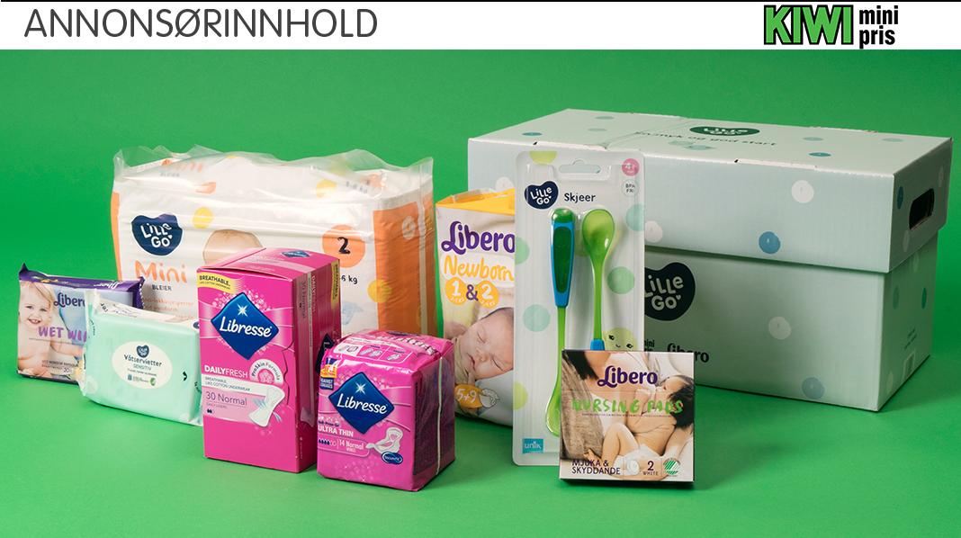 Gravid? Få gratis startpakke fra KIWI