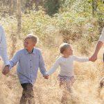 Lilja og familien