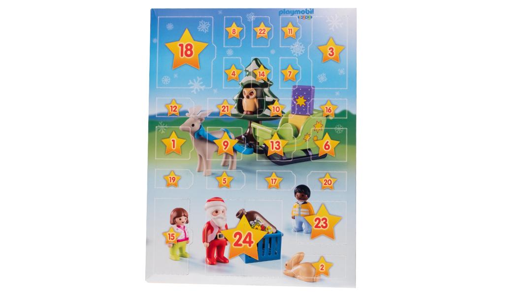 Playmobil 1-2-3 Jul i skogen