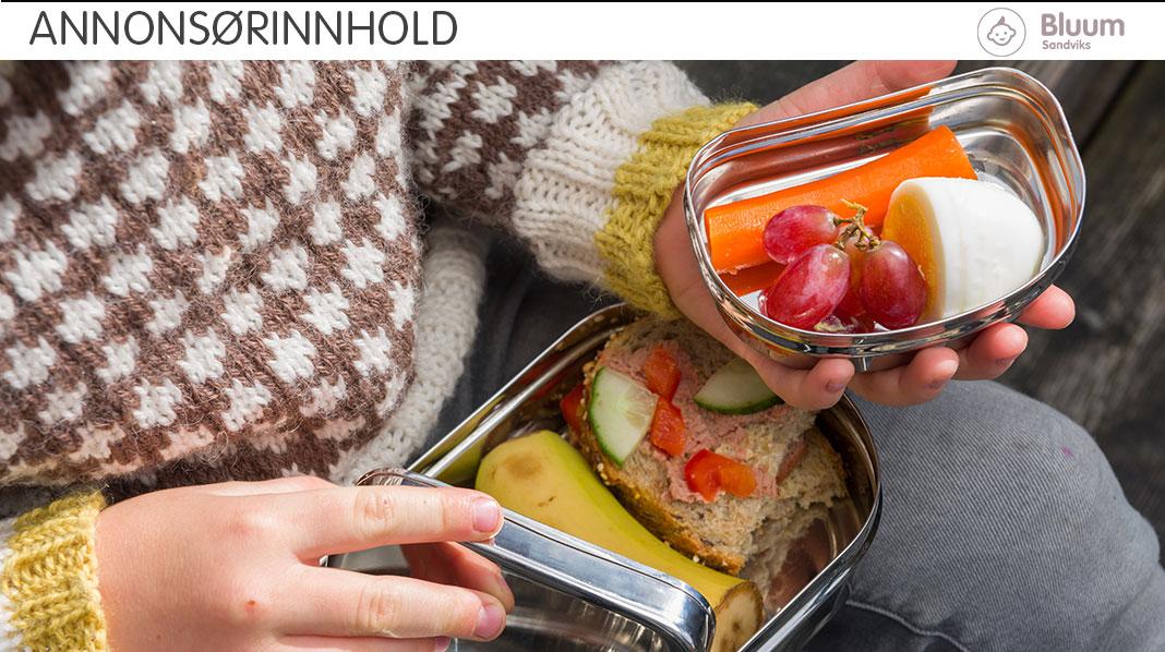 Tre sunne og gode oppskrifter på matpakkemat til matboksen
