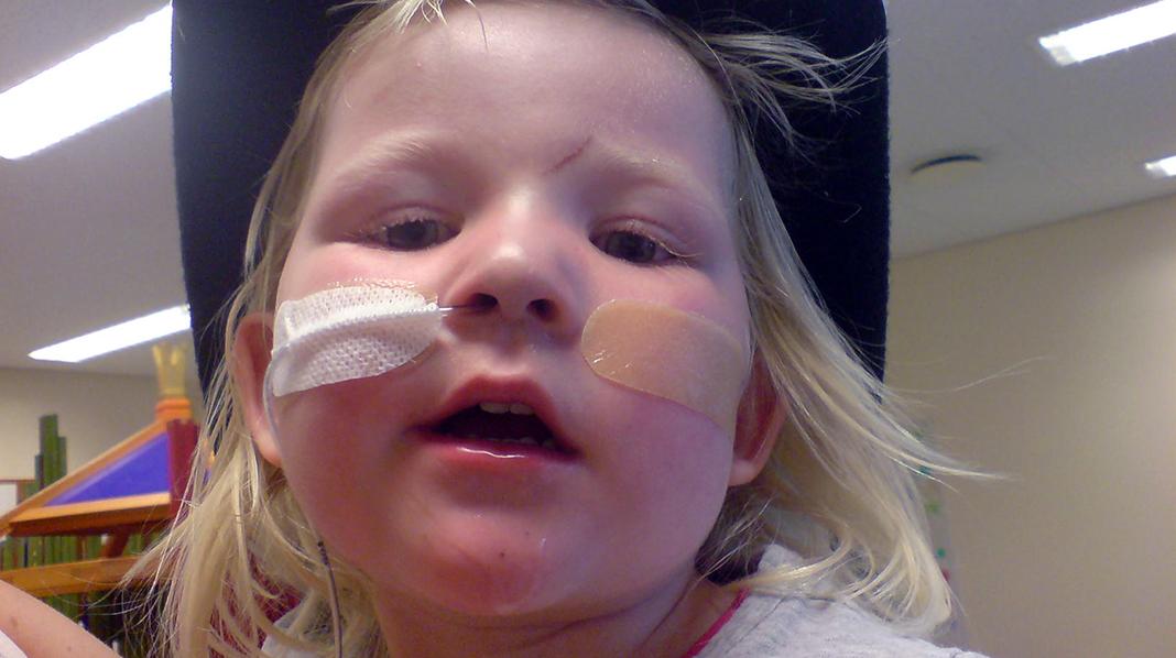 Lille Angelika rakk ikke å bli tre år. Alle foto: privat, gjengitt med tillatelse