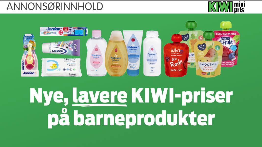 Lave KIWI-priser hver dag