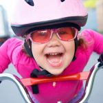 funny-girl-and-bicycle-picture-id122185383