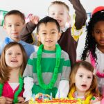 birthday-party-of-a-little-boy-picture-id155157256