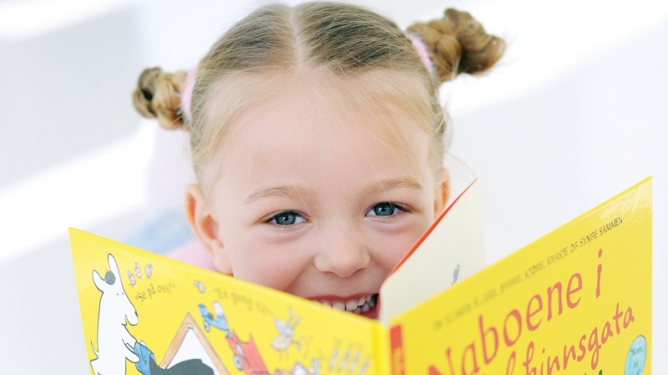 Lær barnet å lese selv!