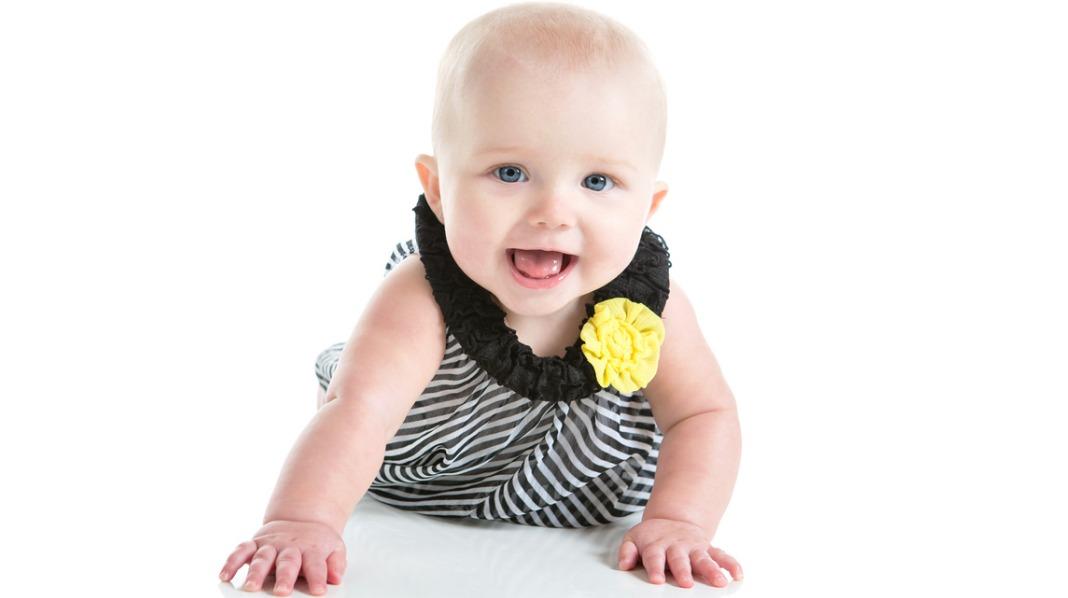 Et flott navn til en vakker, liten jente? Illustrasjonsfoto: iStock
